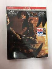 Jurassic World: Fallen Kingdom (Blu-Ray Combo pack, 2018)new/SEALED - TARGET EXC