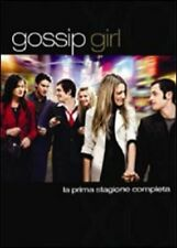 GOSSIP GIRL STAGIONE 01  5DVD  COFANETTO  SERIE-TV