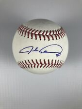 Jacob deGrom New York Mets Signed Official Major League Baseball