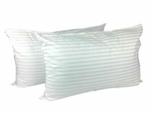 Big Jumbo Pillows Striped Hotel High Quality Extra Large Pillows Pair King Size
