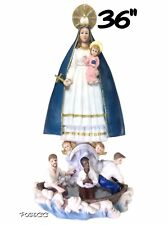 """Caridad Del Cobra 36"""" Inch Statue Our Lady Of Guadalupe Religious Figure"""