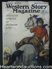 Western Story May 29 1926  Sidney Riesenberg Cvr