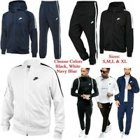 NIKE Tribute Mens Full Tracksuit Set Sports Zip Hoodie Jogging Bottoms Joggers