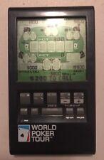 Radica 2005 World Poker Tour Electronic Handheld Game Tested
