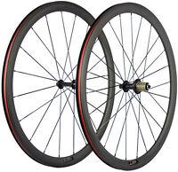 Clincher Carbon Wheels 38mm Road Bike Carbon Wheelset  Bicycle Wheel 700C Set