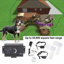 Underground Water Resistant 2 Shock Collar Electric Two Dog Fence Fencing System
