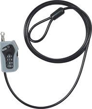 ABUS MOTORCYCLE SECURITY COMBILOOP 205 COIL LOCK BLACK 5mm/200cm [52523 0]