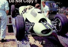Innes Ireland UDT Laystall Lotus 24 French Grand Prix 1962 Photograph