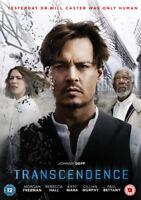 Transcendence DVD (2014) Johnny Depp, Pfister (DIR) cert 12 ***NEW***