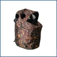 Camo Pop Up Chair Hide Quick Erect Decoying Shooting Photography Tent Waterproof