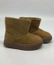 Cat & Jack Toddler Size 5 Tan Boot Faux Fur