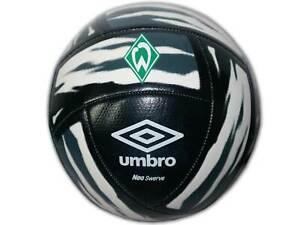 Umbro SV Werder Bremen Fußball Neo Swerve Gr.5 SVW Fan Ball Trainingsball
