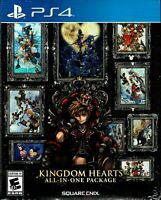 Kingdom Hearts All in One Package Ps4 New 10 Magical Games In One Box Fantastic