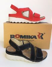 Romika shoes Germany- Orthotic friendly comfort leather Sandals Salem 06