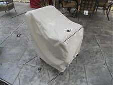 """Patio furniture cover - individual chair 