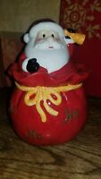 Vintage Christmas Santa Claus Cookie Jar