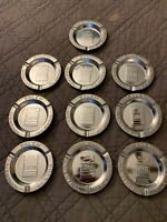 10 Vintage Tobacco Tin Advertising Ashtrays SALEM R.J. Reynolds Tobacco Co. LOOK