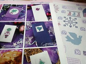 CROSS STITCH CHART CHRISTMAS MOTIF IDEAS COLLECTION  CHARTS ONLY