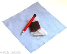 Satin / Brushed Refinish Pad  & Pen for T-Touch Brushed Steel Finishes