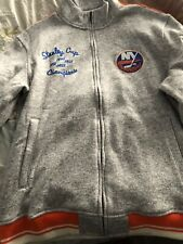 Mens CCM NHL New York Islanders Embroided Full ZIP  Sweatshirt Size XL