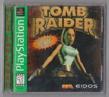Tomb Raider - Featuring Lara Croft [Greatest Hits] (Sony PlayStation 1, 1996)