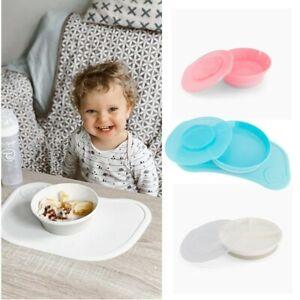 Twistshake Click Mat Mini Baby Geschirr Platte, Schüssel oder Geteilter Teller