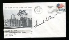 Frank T. Bow Signed FDC First Day Cover Autographed US Congressman Ohio 26204