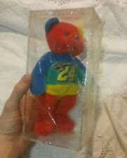 Jeff Gordon #24 Team Speed Bear Beanie Cube -Never Been Open