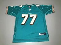 Jake Long #77 Miami Dolphins NFL Authentic Reebok Football Jersey Adult Size L