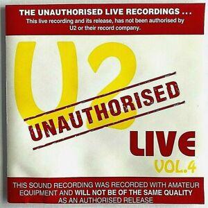 U2 ~ Live Vol 4 ~ (Joker JOK-019-D) Brand New CD