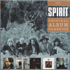 SPIRIT Original Album Classics > EU 2010 5 CDs Box Set SIS As New < w/ bonus trx