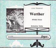 Massenet: Werther / Votto, Kraus, Trimarchi, Zeani, Palermo 26.2.1971 - CD