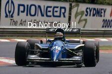 Thierry Boutsen Ligier JS35B Italian Grand Prix 1991 Photograph