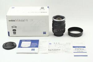 【TOP MINT + BOX】 Carl Zeiss Distagon T* 35mm F/2 ZS Pentax M42 From Japan #278