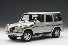 2012 MERCEDES-BENZ G CLASS G500 SILVER 1:18 by AUTOART 76217 BRAND NEW IN BOX