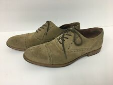 """ASTON GREY Collection """"Crocket"""" Light Brown/tan Suede - US Size 9 (loc Bs13)"""