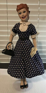 I Love Lucy Porcelain Doll From The Hamilton Collection See Description