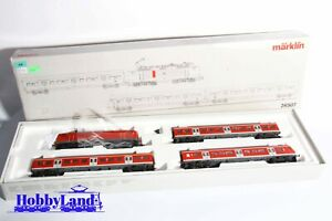 Märklin H0 - 26507 Digital  Unidad de tren  Tren push-pull en transporte local