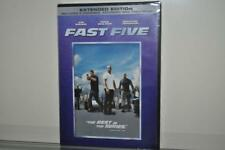 Fast Five (DVD, 2011, Rated/Unrated) NEW Sealed Extended Edition