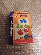 Alphabet, 36 Learning cards a through z Letters, PreK -K by Playskool
