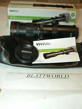 NEW VIVITAR 420-800mm F8 TELEPHOTO ZOOM LENS for SLR DSLR MIRRORLESS CAMERA