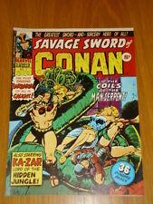 CONAN SAVAGE SWORD #7 BRITISH WEEKLY 1975 APRIL 19TH