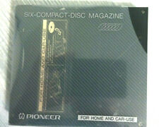 Pioneer 6-Disc Cartridge Magazine for Cd Changer Home & Car-Use