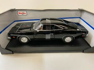 Dodge Charger R/T 1969, schwarz  Modellauto, Modell  Maisto 1:18