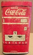 COKE - COCA COLA  TIN BANK - SODA DISPENSER DESIGN --