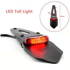 12V Universal Motorcycle Fender Lamp LED Brake Stop Rear Tail Light  Indicators