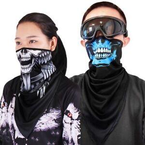 Sports Outdoor Ghost Bicycle Neck Gaiter Bandana Balaclava Face Mask Headband