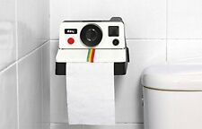 Polaroll Toilet Paper Roll Holder Vintage Camera Polaroid Home Bathroom Gift