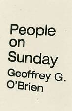 People on Sunday, OBrien, Geoffrey G., Used; Good Book