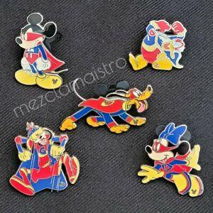 SET Disney Hidden Mickey Pin Super Hero Global Cast Lanyard Series superheroes